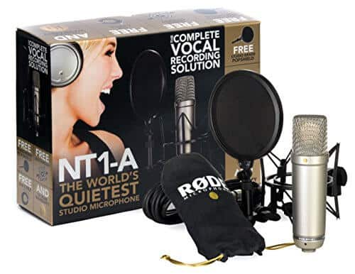 Rode Nt1 mic for voiceover