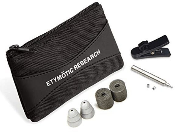 Etymotic earphones bag