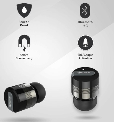 Rowkin bit stereo wireless earbuds