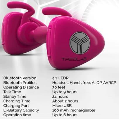 Treblab x11 earbuds