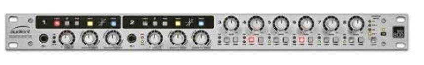 Audient asp800 8 channel microphone preamplifier