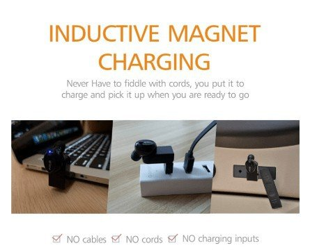 Inductive charging of FOCUSPOWER F10