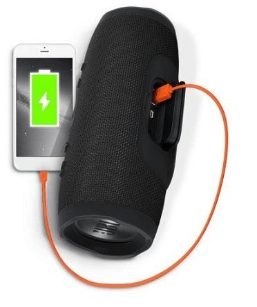 Charging with JBL