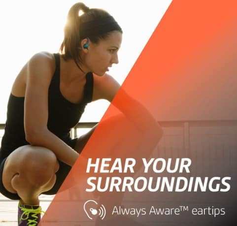 Ability to hear surroundings