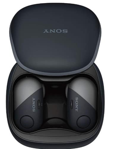 Sony earbuds with charging case