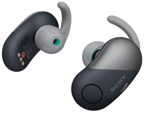 Sony WF-SP700N/L True Wireless Splash-Proof Noise-Cancelling Earbuds
