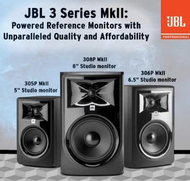 JBL Professional 305P MkII affordable studio monitors