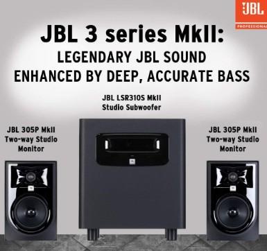 JBL Professional 305P MkII bass