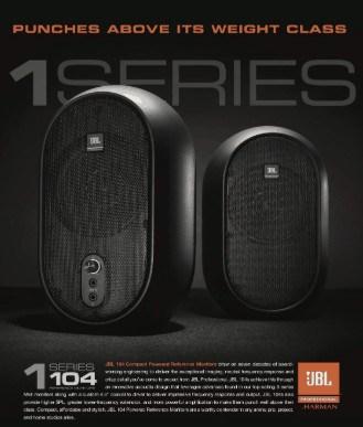 JBL104 - best travel monitors