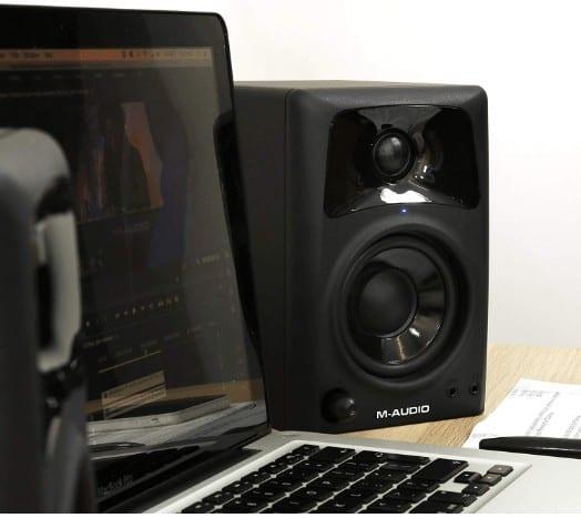 M-Audio AV32 studio monitor