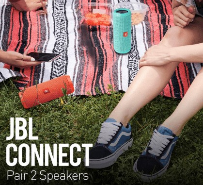 Pairing with JBL Connect
