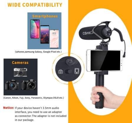 Comica CVM-V30 LITE compatibility