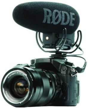 Connecting Rode VideoMic Pro+ to a7iii