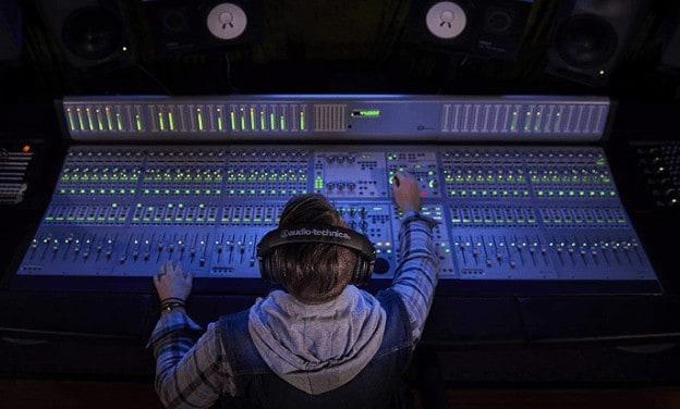 M50x studio headphones