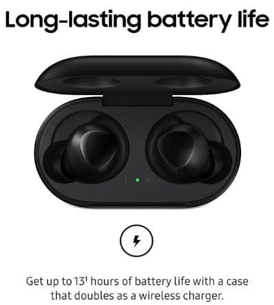 Samsung Galaxy Buds Battery life