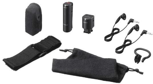 Sony ECMW1M Wireless Microphone accessories