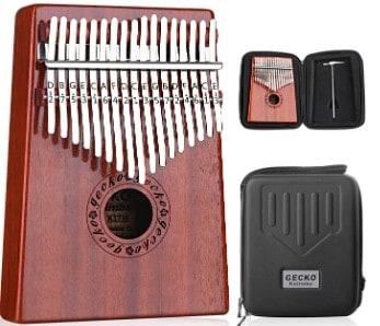 Gecko Kalimba 17 Key Thumb Piano