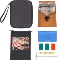 JDR 17 Keys kalimba protection cases