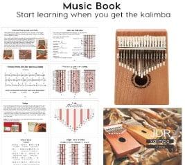 JDR 17 Keys kalimba sound quality and performance