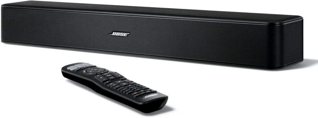 Bose solo 5 tv soundbar sound system sleek slim design bluetooth connectivity black renewed 1