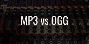 Mp3 vs ogg