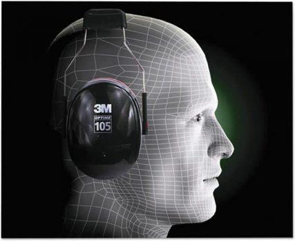 3M H10A Peltor Optime 105 Earmuff Comfort