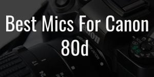 Best mics for canon 80d