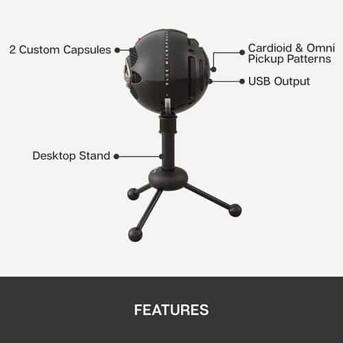Blue Snowball USB Mic features