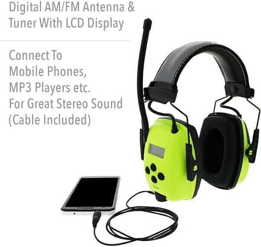 Howard Leight Sync Hi-Visibility Radio Earmuff Sound quality