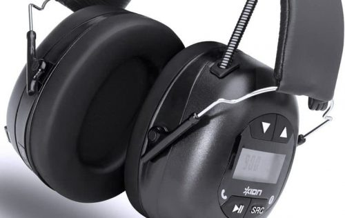 ION Audio Hearing Protection Headphones sound quality