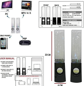 e-Joy Dancing Speaker Features