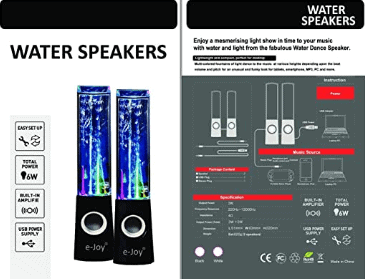 e-Joy speakers