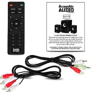 Acoustic Audio Bluetooth 2.1 Speaker System features