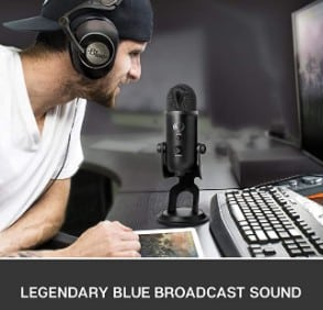 Blue Yeti audio