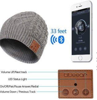 Blueear hat wireless range