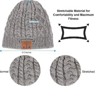 Blueear Wireless winter knit Hat design