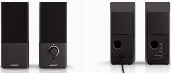 Bose Companion 2 Series III Multimedia speakers features