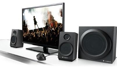 Logitech Z333 2.1 Speakers sound quality