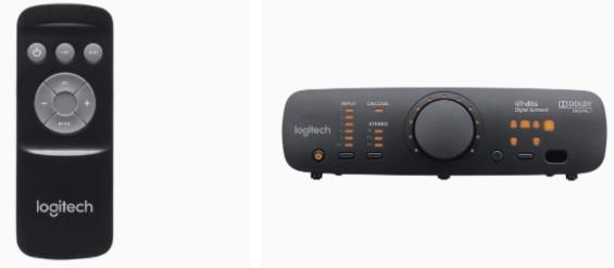 Logitech Z906 5.1 Surround Sound Speaker System remote control