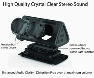 OontZ Angle 3 Bluetooth Portable Speaker sound quality